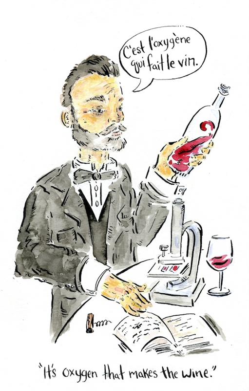Louis Pasteur, 1873 (Illustration by Brandon Lee Wise)